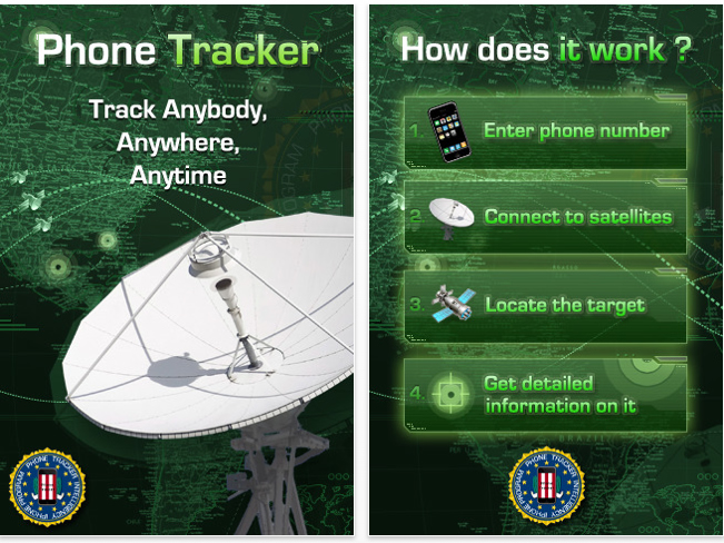 Real cell phone tracker